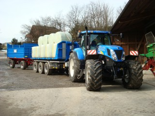 Maisballentransport